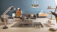 Los muebles de madera clara ycon patas delgadasencajan perfectamente en ambientes nórdicos. En este tipo de espaciostambién funcionan los tapices claros (beiges y blancos), y las piezas de diseño, como las sillas Eames, Panton y Wishbone.. Foto 1 de 5