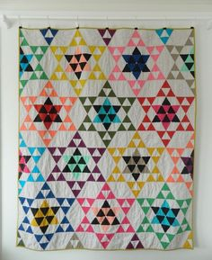 Star Bright quilt for Love Patchwork and Quilting magazine by Sotak Handmade