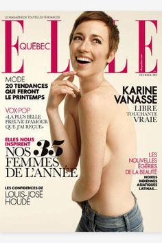 Here, we've rounded up some of the best ELLE covers of the past 12 months. Quebec, Girls Magazine, Elle Magazine, Magazine Covers, Pixie Cut Styles, Short Hair Styles, Pixie Cuts, Olivia Wilde, Pixie Haircut