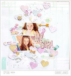 Crate Paper | Corrie Jones | My Girl via the Open Road collection