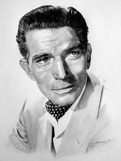 Michael Rennie by Paul Brady