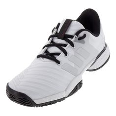 Adidas Barricade Club XJ Junior Tennis Shoes White Samba
