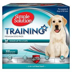 Simple Solution Dog Training Pads, 23 x 24, 100 ct (Packaging May Vary) >>> Check out this great product.