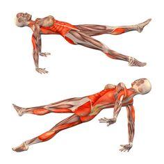 Upward plank pose with left leg up - Purvottanasana left - Yoga Poses | YOGA.com