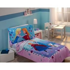 Frozen Bedroom Diy, Frozen Bedrooms, Elsa Bedroom, Frozen Girls ...