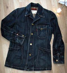 Levi s Redloop Jeansjacke Denim Jacket Japan Chore Coat Blazer