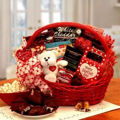 Gift Baskets For Valentineu0027s Day For Him U0026 Her