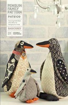 Penguin Family - by Basic Grey - Softy - Patchwork Pattern