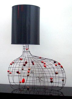 Galet Rouge Lamp