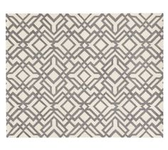 Replacement for cooking area? Shelby Rug - Gray | Pottery Barn