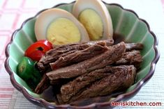 Beef JangJoRim | Aeri's Kitchen - If I ever have so much money I need to cook brisket as a side dish... :P