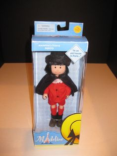 "NEW 8"" Madeline Doll Pepito #LearningCurve #DollswithClothingAccessories"