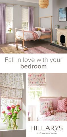 Brighten up your bedroom with a pastel colour pallet. Perfect on-trend style to transform your home.