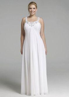 Rhinestone Sequin Chiffon Wedding Dress $199