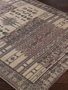 Shadi Flatweave Hand-Woven Jute Rug from Natural Fiber Rugs From $49 on Gilt
