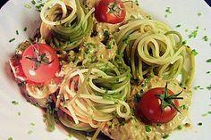 Spaghetti mit Thunfisch - Sahne - Soße 1