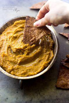 Pumpkin Hummus | 19 Easy And Delicious Hummus Recipes