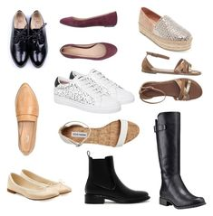 A fashion look from March 2018 featuring calfskin shoes, tall black boots and ballerina shoes. Browse and shop related looks. Charles Keith, Ballerina Shoes, Sergio Rossi, Black Boots, Timberland, Steve Madden, Fashion Looks, Polyvore, Shopping