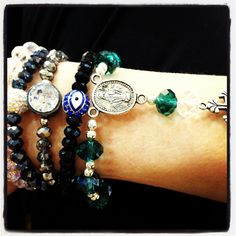 Beads by Sonz religious arm candy collection