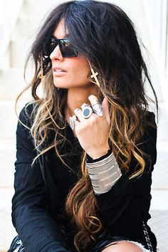 usually HATE ombre hair, but like this!