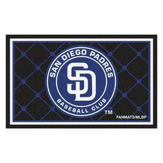San Diego Padres Rug 4x6