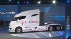 Nikola Motors presenta su camión de pila de hidrógeno # El transporte de mercancías por carretera es un elemento fundamental para que la economía mundial funcione como debería. Tan importante es que una subida del precio del petróleo podría dar al traste con este sector ... »