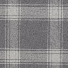Doublebrook Plaid - Grey Flannel - Fabric - Products - Products - Ralph Lauren Home Ralph Lauren Fabric, Plaid Bedding, Tartan Fabric, Grey Fabric, Woven Fabric, Grey Flannel, Check Fabric, Textiles, Fabric Houses