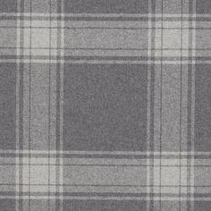 Doublebrook Plaid - Grey Flannel - Plaids - Fabric - Products - Ralph Lauren Home - RalphLaurenHome.com