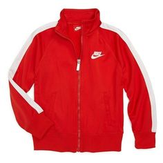 Nike 'Futura' Jacket (Little Boys) 4 ($24) ❤ liked on Polyvore featuring jackets, nike, items and sweaters
