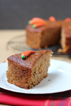 Carrot Cake - This carrot cake is sinfully delicious!