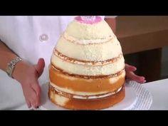 Barbie Dress Cake-Make Barbie cake