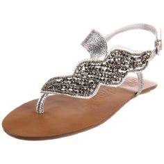 Naughty Monkey Women's Ascot Thong Sandal  shop all Naughty Monkey Be the first to write a review  how it fits size: width: B color:  Black  Pewter  $69.95