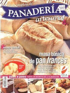 Panaderia  Revista con la mejores recetas de la panaderia.