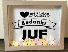 Hartstikke bedankt Juf / Meester