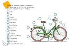 werkblad verkeer groep 3 - Google zoeken Learn Dutch, School Info, Creative Teaching, English Vocabulary, Good Company, Geography, Biology, Kids Learning, Chemistry