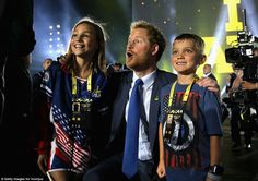 Prince Harry is the creator, patron and president of the Invictus Games, which held its inaugural event in London in 2014