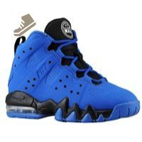 Nike Air Max Barkley Little Kids Style Shoes : 488246, Game Royal/White-