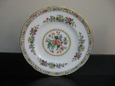 Vtg FOLEY Bone China MING ROSE Salad Plate by TinousChina on Etsy