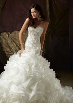 Mori Lee Angelina Faccenda (1421) Wedding Dress $1,500