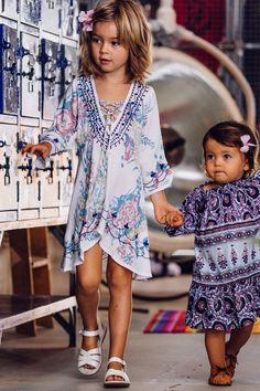 adorable bohemians. #kids #fashion. These are so beautiful, love the detailing.little more of Grace