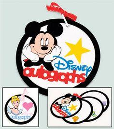 Disney Autograph Book: Scrapbooking Projects: Shop   Joann.com