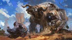 space cowboy , Hung-wen Chang on ArtStation at https://www.artstation.com/artwork/space-cowboy-dc22114f-25e1-4421-bd96-6dcfa36e8f3b
