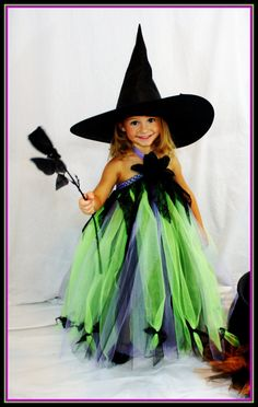 Witch Tutu Dress by TreasuredTutu on Etsy, $65.00