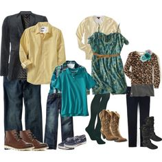 """2012 Family Photo outfits"" by xoxotrina on Polyvore"