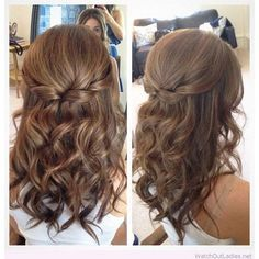 Half up, half down hairstyles allow you to get creative with braids, twists and even your favorite go-to top knot. They work for any hair length and face shape…