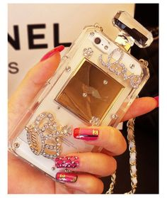 Sasa(TM)iPhone 6Plus/6S Plus Case,Luxury Handmade Bling Crystal Diamond Perfume Bottle Style Handbag Case Cover for iPhone 6Plus/6S Plus (5.5inch) (White). for: iPhone6Plus/6S Plus only (5.5inch). 100% Handmade High Quality Rhinestones and Crystals. About 110cm Long Chain. Luxury design keeps your phone safe and protected in style. Stylish, slim, light and comfortable protection without adding any bulky look to the phon.