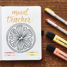 🍊 Mood tracker for August! Recreation of a beautiful mood tracker by SheMeetsPaper 💕 Go check them out! Bullet Journal August, Bullet Journal Tracker, Bullet Journal Disney, Bullet Journal Agenda, Bullet Journal Cover Ideas, Bullet Journal Spread, Bullet Journal Inspo, My Journal, Summer Journal