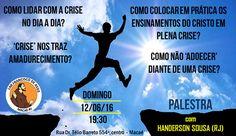 Lar Francisco de Assis Convida para a sua Palestra Pública - Macaé - RJ - http://www.agendaespiritabrasil.com.br/2016/06/12/lar-francisco-de-assis-convida-para-sua-palestra-publica-macae-rj-17/