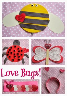 Fun Valentine's Day Craft Ideas For Your Little Love Bugs