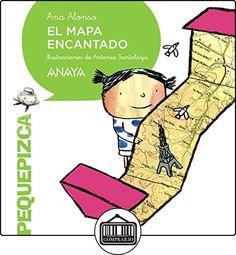 El Mapa Encantado (Primeros Lectores (1-5 Años) - Pequepizca) de Ana Alonso ✿ Libros infantiles y juveniles - (De 0 a 3 años) ✿